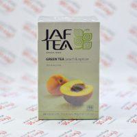 چای سبز جف تی Jaf Tea مدل Peach & Apricot