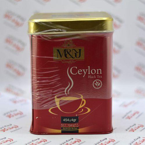چای ممتاز ام اند جی M & J مدل Ceylon