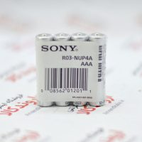باتری نیم قلمی سونی Sony مدل R03-Nup4A