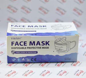 ماسک تنفسی سه لایه YWSH
