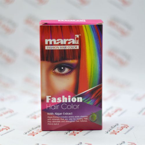 رنگ موی فانتزی مارال Maral رنگ قرمز