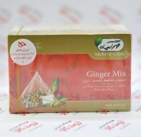 دمنوش مخلوط زنجبیل مهر گیاه Mehr-e-Giah مدل Ginger