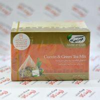 دمنوش مخلوط چای سبر و زیره مهر گیاه Mehr-e-Giah مدل Cumin