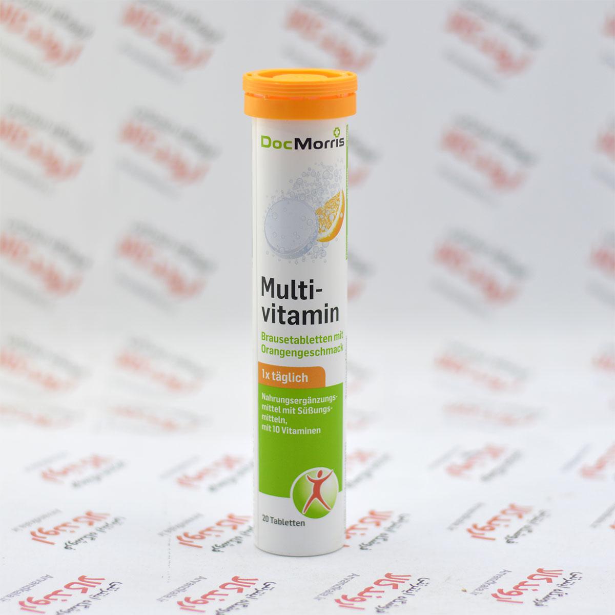 قرص جوشان Doc Morris مدل Multivitamin