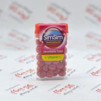 خوشبو کننده دهان سیم سیم Sim Sim مدل strawberry