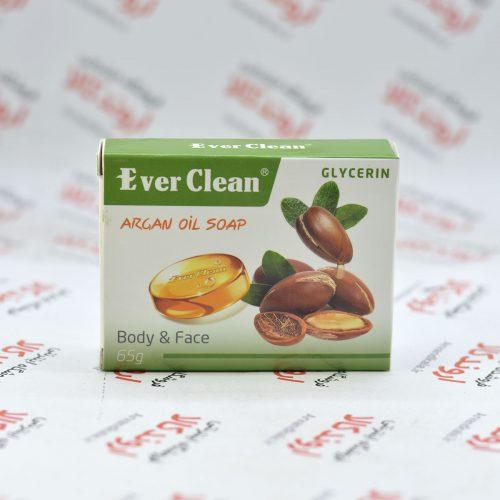 صابون گلیسرینه اورکلین Ever Clean مدل ARGAN